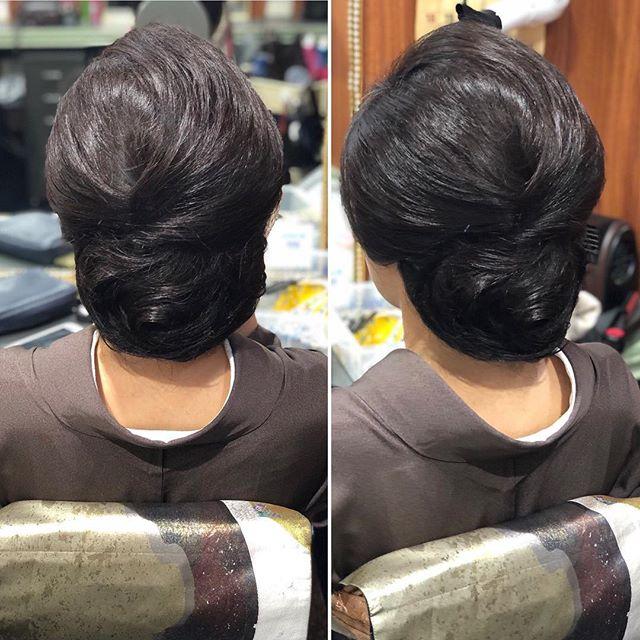 本日もご来店ありがとうございましたシニヨン風に作りました。#銀座#銀座美容室#銀座セットサロン#美容室#和髪#和装#和装ヘア#着物#着物ヘア#かんざし#ホステス#銀座ホステス#簪#ヘアセット#ヘアセットサロン#hairstyle #hairstyles #hairarrange #お客様#スタッフ募集#スタッフ募集中 - from Instagram