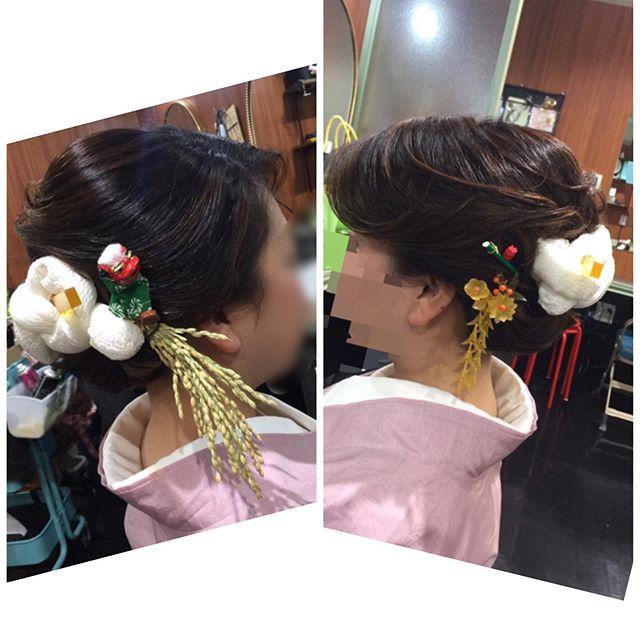 節分鹿の子と獅子、稲穂、干支のかんざし組み合わせてつけてみました。髪の長さはボブくらいの長さです。短くても下目の和髪てきます。どうぞごスター美容室ご利用ください。 #稲穂#干支#ネズミ#ボブ#短い#和髪#節分フォト #節分セット #節分ヘアセット #鹿の子 #おに #セット専門 #アップスタイル #銀座 #並木通り - from Instagram